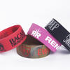 "Extra Wide Silicone Wristbands (25mm  / 1"" wide) Completely Customized  image"
