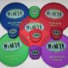 Faltbarer Frisbee mit Aufbewahrungstasche und ihrem individuellen Druck oder Logo image