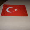 Custom printed flag 30x45cm for hand or car image