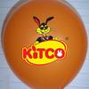 "Custom printed 10"" (25cm) balloon with your artwork or logo image"