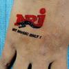Klebe-Tattoo in A7 Größe(74x105mm) individuell gestaltet image