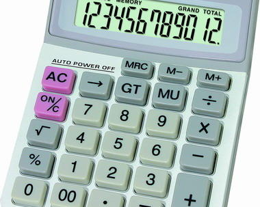 Desktop calculator 1001 image