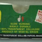 Transparentes, extra langes King Size Zigarettenpapier (110x36mm) in individueller Packung und Schaukarton image