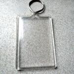 Schlüsselanhänger mit Lentikulardruck im individuellen Design image