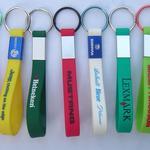 Silikon Schlüsselbänder (Lanyards) mit Aluminiumclip image